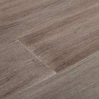 Yanchi 10mm Handscraped T&G Solid Strand Woven Bamboo Flooring-Harmony Grey - Sample