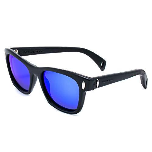italia independent 0012-009-000 Gafas de sol, Negro, 53 Unisex