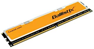 Crucial Technology BL12864AA80A 1GBBallistix 240-Pin DIMM4-4-4-12 Unbuffered Non-ECC DDR2-800 2.0V 128Meg x 64 DDR2 PC2-6400 Memory Module
