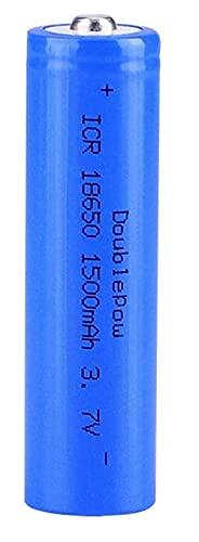 Batería de Litio Recargable de 3 7V 1500mAh de batería 18650 Utilizada en Dispositivos electrónicos portátiles, como linternas-4 Habitaciones