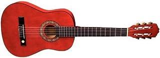 Tenson Classic F500053 - Guitarra, tamaño 4/4, color rojo transparente