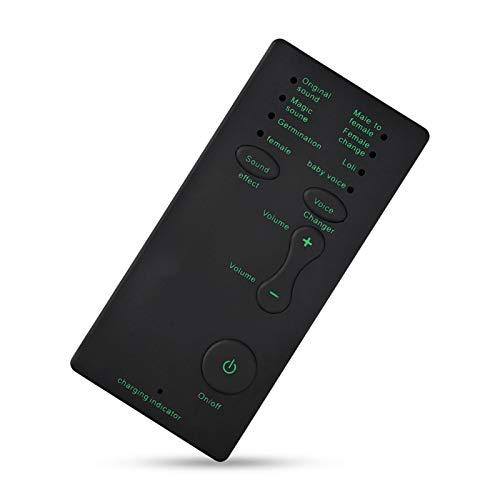 Augneveres Live-Soundkarte Sound Machine Handmikrofon Voice Changer Soundeffektmaschine Geeignet für Tablet-Handy, Computer, Spielekonsole, Spielekonsole und Jede Spielplattform.