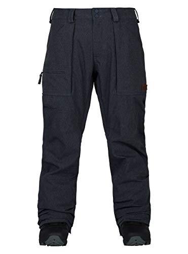 Burton Herren Southside Pant Snowboardhose, Denim, XL
