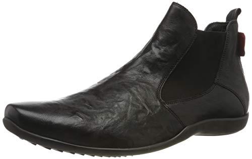 Think! Herren Stone_585616 Chelsea Boots, Schwarz (Sz/Kombi 09), 42 EU