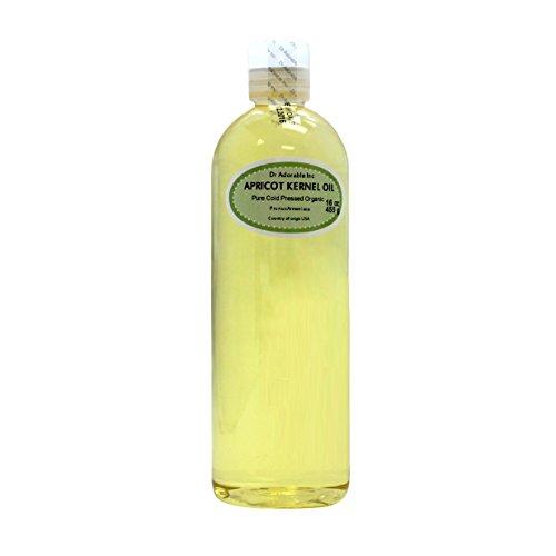 Apricot Kernel Oil Organic Pure 16 Oz