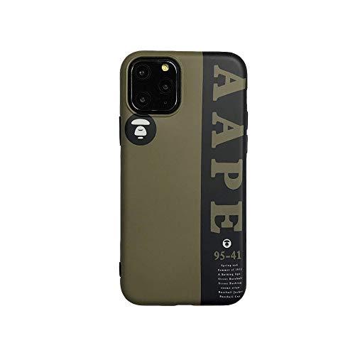 ZHYLIN telefoonhoesje Engelse woorden siliconen hoesje voor Apple iPhone 6 6s 7 8 Plus Fashion Aape zachte telefoon TPU hoesjes voor iPhone Xs XR Xmax nieuwe iPhone 11 Pro Max Back Cover, IPhoneX, 2