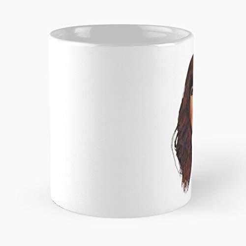 La Puta Puton Pringada Cristina Una Santa Rojo Veneno Digo Soy Ni Pasion - Le Meilleur 11 oz 15 oz fabriqué à partir de Tasse à Café en céramique de marbre Blanc I - Personnaliser