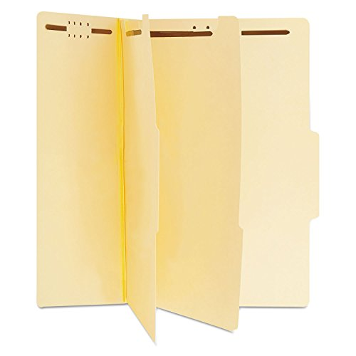 Universal 10300 Manila Classification Folders, Letter, Six-Section (Box of 15)