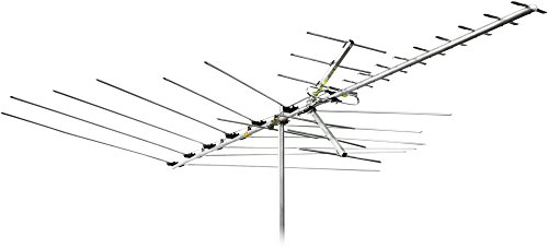 Channel Master Advantage 60 Directional Outdoor TV Antenna - Long Range FM, VHF, UHF and Digital HDTV Aerial - CM-3018