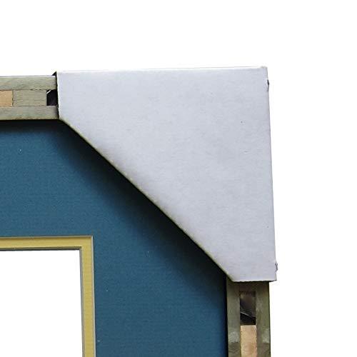 Frame Corner Protectors | Cardboard Corner Protectors | Adjustable Picture Frame Corners for Shipping, Packing or Moving Art - 40 Cardboard Corners (40)