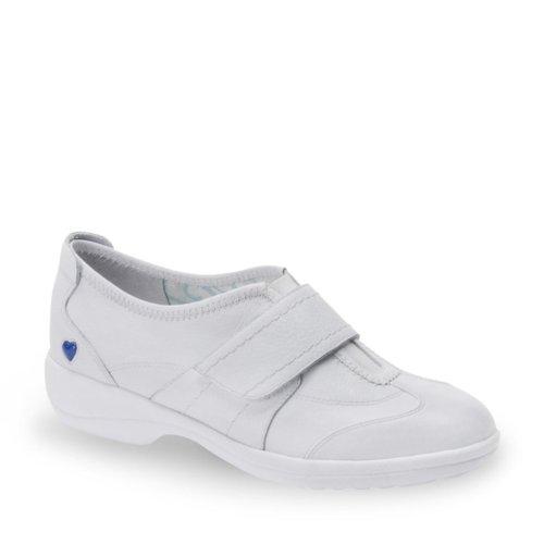 Nurse Mates Women's Maddy Slip-On Shoes White