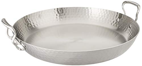 Stainless Steel Paella Pan Mauviel