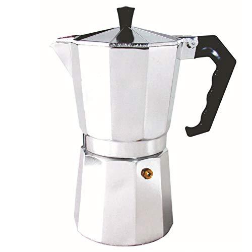 Cafetera de 50 ml, cafetera de aluminio, cafetera de café, cafetera de café mocha expreso