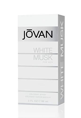 Jovan White Musk Eau de Cologne Spray für Herren, 90 ml