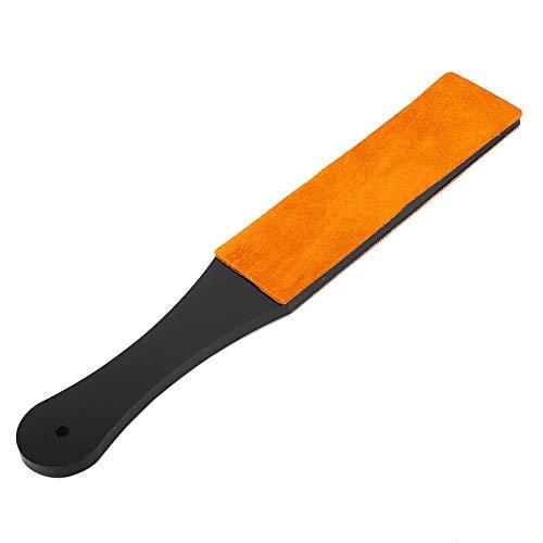 Rasoir droit, taille-crayon manuel durable, double taille pour polir l'or, l'argent, le laiton pour le polissage du cuivre, l'aluminium