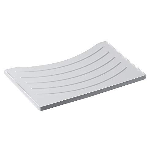 Inbagno ASSE Lavaggio per Vasca Lavatoio da 60 cm in PVC Bianco - Tavoletta Strofinatoio Universale Compatibile