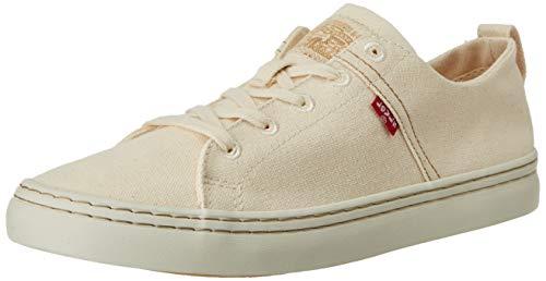Levi\'s Herren Global Vulca-Low Sneaker, Weiß (Regular White 51), 43 EU