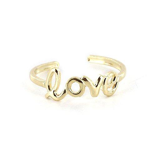 Pixnor-Anillo de mano diseño de señora amor regulable modelo Toe Rings Soporte para joyas, diseño de fantasía