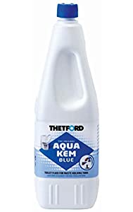Thetford Aqua KEM Blue líquido para el inodoro, 1 L