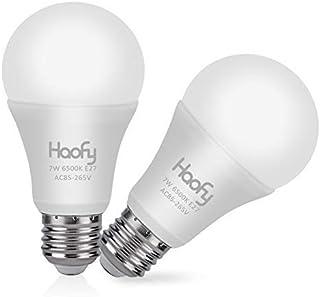Haofy Bombillas Sensor E27 Sensor de Luz LED 7W E26 / E27 Bombillas LED de 12W con Auto Encendido/Apagado Lámpara de Llum...