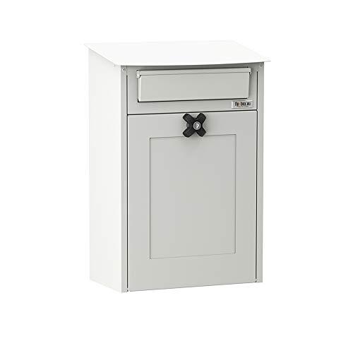 Flexbox Briefkasten Albert 9302 Weiß