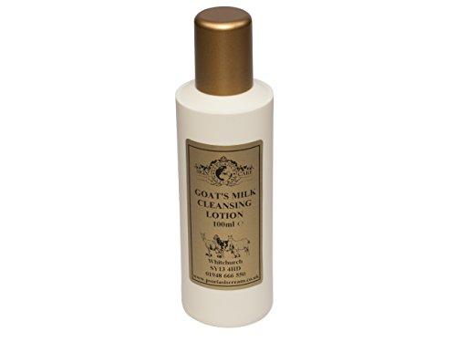 Lotion Nettoyante Lait de Chèvre 100ml. Pour le psoriasis eczéma peau sèche Dermatite rosacée Sensible, fabriqué par Elegance Natural Skin Care en Grande-Bretagne