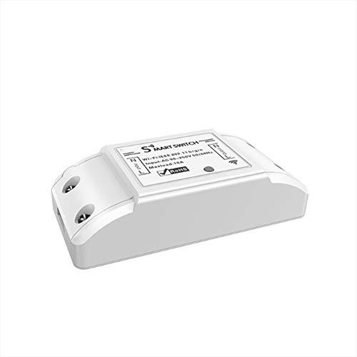 SKTE Tuya Zigbee WiFi Smart Wireless Remote Switch Módulo controlador de luz, Tuya Zigbee Smart Relay Switch, Mini Smart Switch Hub, Control remoto bidireccional interruptor relé