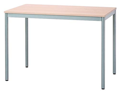 ナカバヤシテーブルオフィスデスク100x60cmナチュラル木目HEM-1060NM