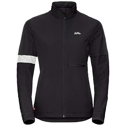 Odlo Herren Anette Jacket Sportjacke, Mehrfarbig (Black 15000), Small