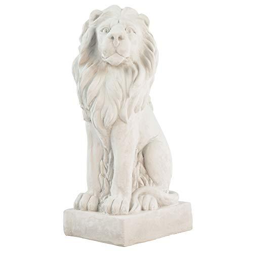 Aubaho XXL león Figura Escultura Estatua Estilo Antiguo ldecoración 75cm