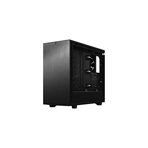 Fractal Design Define 7 Black Solid - Caja para Torre de Ordenador, Color Negro