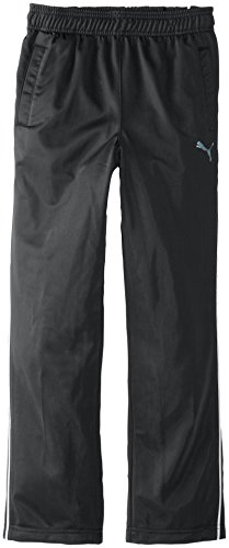 PUMA Big Boys' Pure Core Track Pant, PUMA Black, Medium