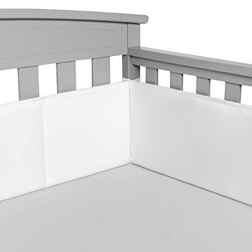 31U3JinatpL - BreathableBaby Classic Breathable Mesh Crib Liner