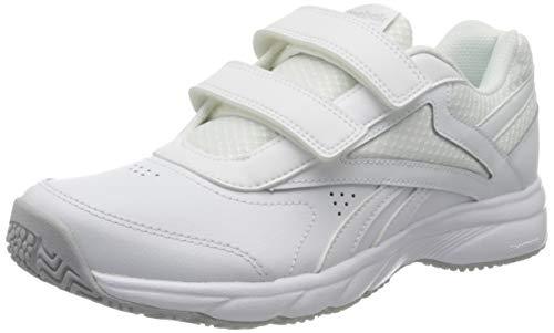 Reebok Work N Cushion 4.0 KC, Gymnastics Shoe Womens, White/Cold Grey 2/White, 38.5 EU