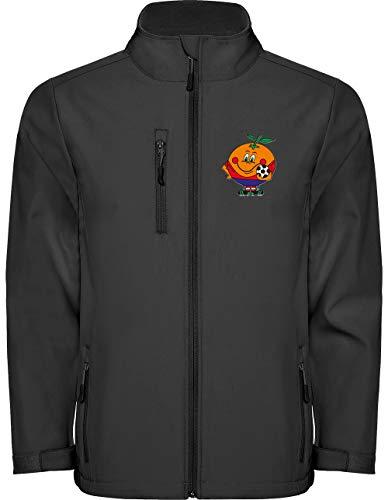 Camisetas EGB Chaqueta Softshell Naranjito ochenteras 80´s Retro