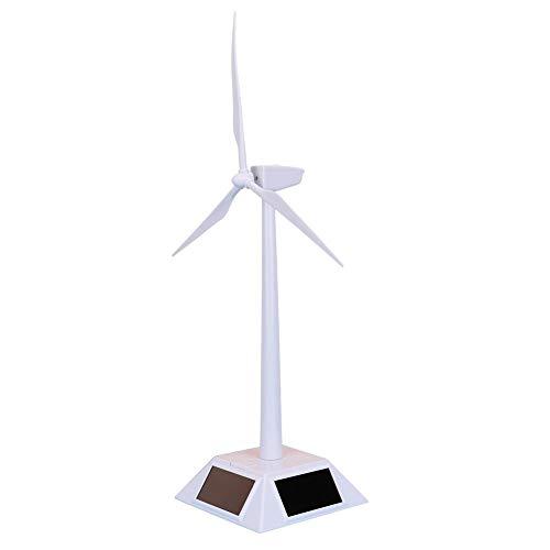 Juguete de molino de viento, modelo de molinete de molino de viento solar de plástico inteligente para niños que se puede decorar en casa en el automóvil en el escritorio o en Navidad como regalos par