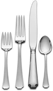 Gorham Fairfax 4-Piece Sterling Silver Flatware Dinner Set, Service for 1
