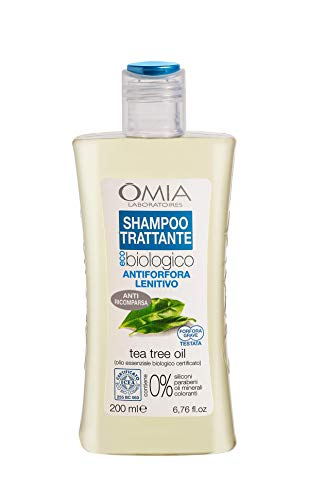 Omia Therapy Shampoo Trattante Ecobio Tea Tree Oil...