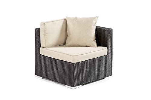 End Module - Modular Rattan Garden Furniture - Select Your Components To Match Your Exact Specification