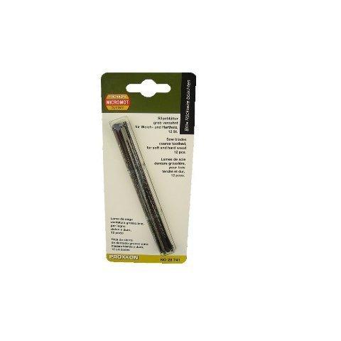 Proxxon 28741 Grob Standard Blättern Sägeblätter für Holz - 12 Stück