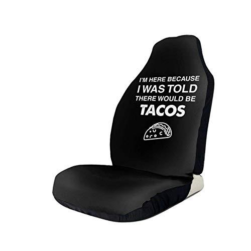 AEMAPE Mir wurde gesagt, DASS es Tacos Autositzbezüge Universal Seat Protector Fit...
