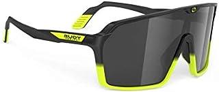 RUDY PROJECT Gafas Spinshield – Black Fade Yellow Fluo – Lentes Smoke Black