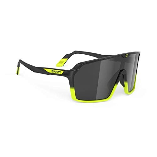 RUDY PROJECT Occhiali SPINSHIELD RP Optics (Black Yellow Fluo Matte-Smoke Black)