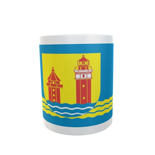 U24 Tasse Kaffeebecher Mug Cup Flagge Dahme