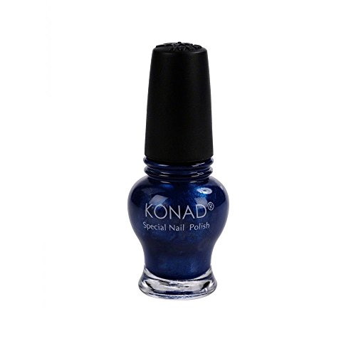 Konad Vernis à Ongles Stamping Princess Blue Pearl 12 ml