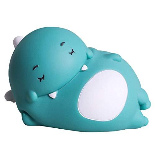 Piggy Bank Dinosaur Piggy Bank Money Box Toy Coin Savings Money Bank con tapón Vinilo Coin Bank Grandes Regalos de cumpleaños para niños Regalo (Color: B, Tamaño: 1)