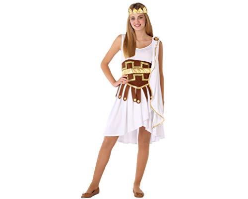 Atosa-61601 Atosa-61601 kostuum voor Egyptische meisjes, dames, 61601, wit, jongeren