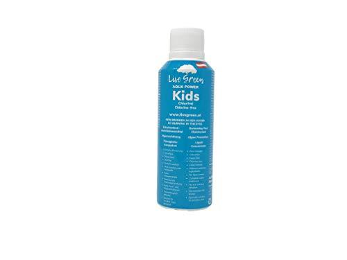Live Green Aqua Power Kids für Kinderbecken | chlorfrei | chlorfreie Wasserpflege für Pool | chlorfreie Poolpflege | chlorfreie Wasserpflege - brennt Nicht in den Augen
