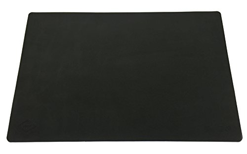 Supmat XL by EPHome, Super Versatile Extra Large & Thick Silicone Mat, Counter Mat (1, Pure Black)