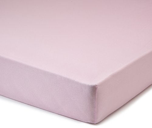 Fleuresse Jerseyspannlaken, rosa, 90 x 200 - 100 x 200 cm
